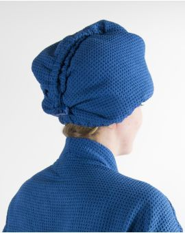 Turban cheveux - Taimiti - Bain de minuit - 25x68cm